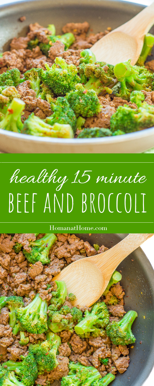 Beef and Broccoli Stirfry   Homan at Home