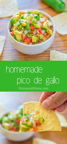 Avocado Pico de Gallo   Homan at Home