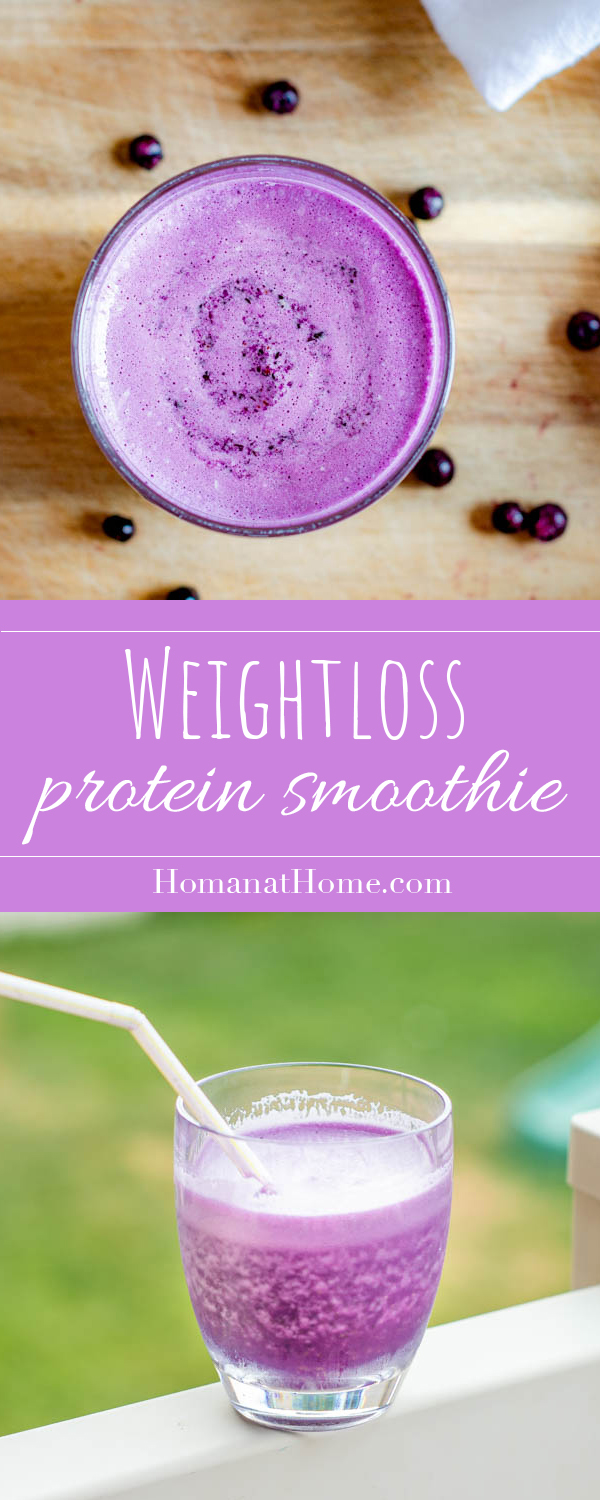 Weightloss Protein Smoothie | Homan at Home