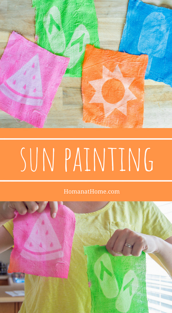 Sun Painting | Homan at Home