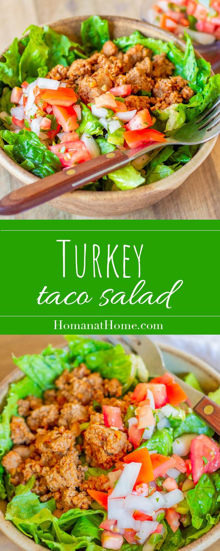 Turkey Taco Salad | Homan at Home