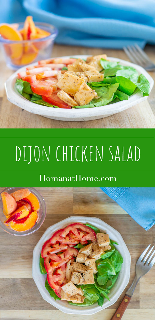 Dijon Chicken Salad   Homan at Home