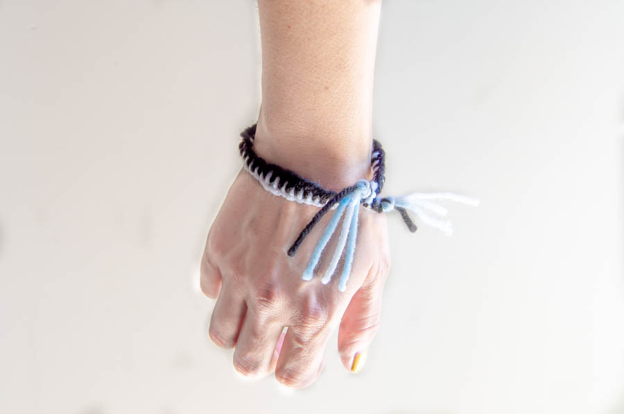 Ladder Stitch Friendship Bracelet | Homan at Home