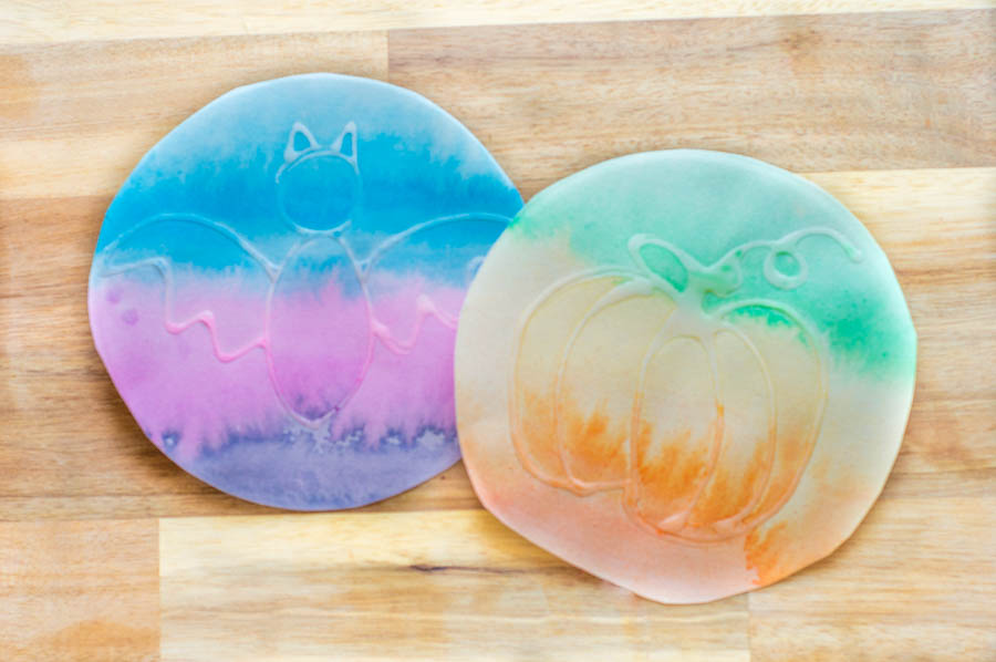 Watercolor Glue Paint Resist | Homan at Home