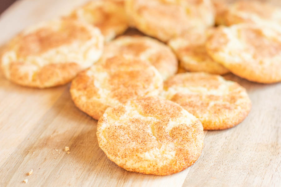 Classic Soft Snickerdoodles | Homan at Home