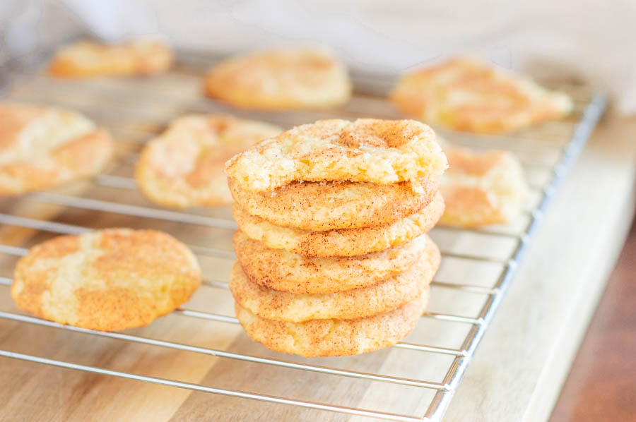 Classic Soft Snickerdoodles