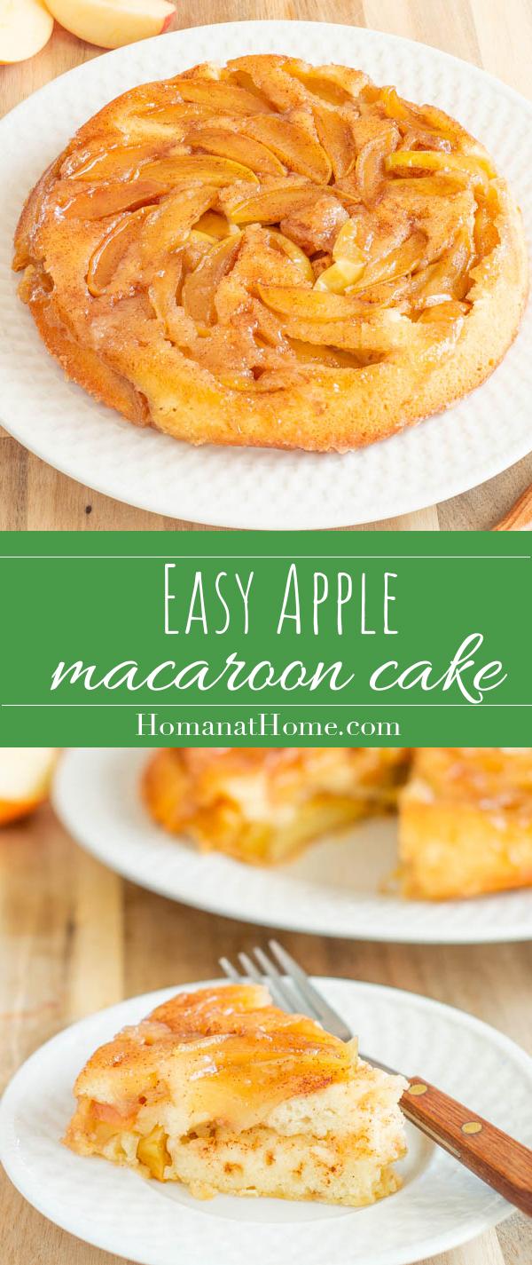 Easy Apple Macaroon Cake | Homan at Home