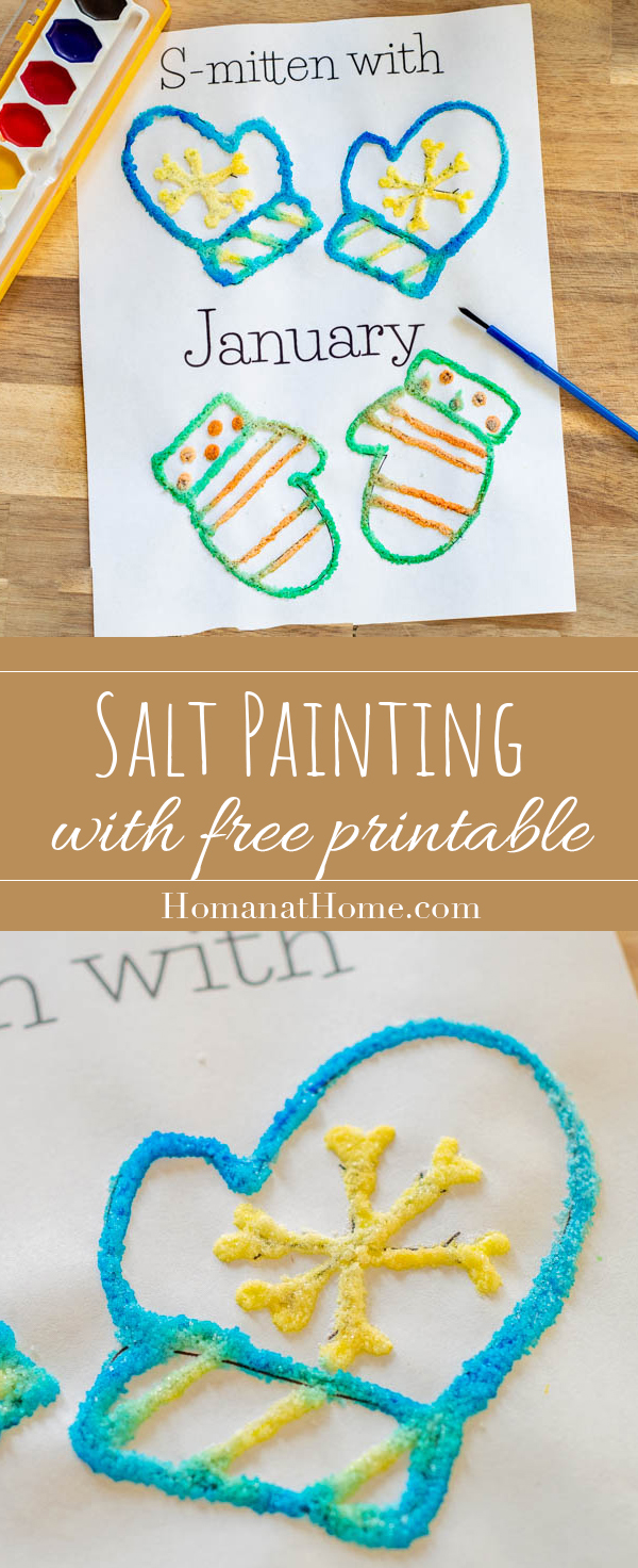 Salt Painting | Homan at Home
