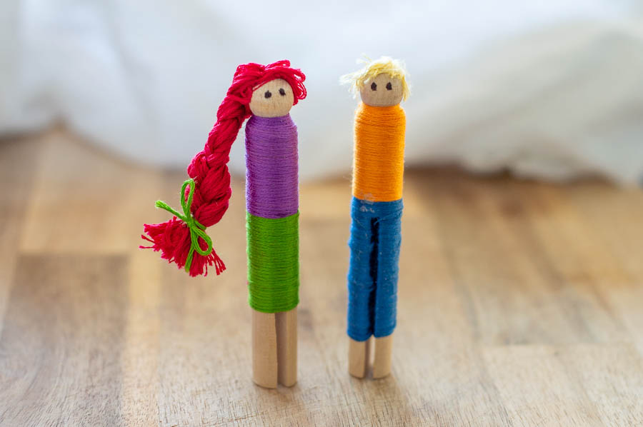 Clothespin Worry Dolls