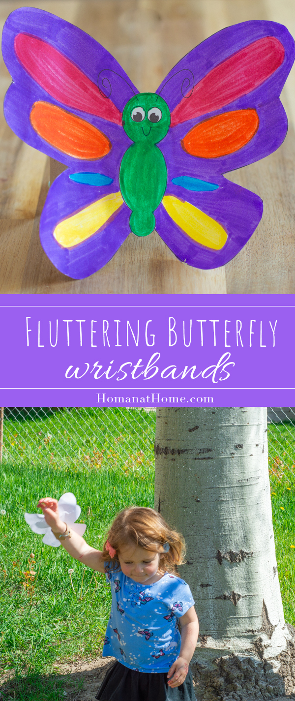 Fluttering Butterfly Wristband | Homan at Home