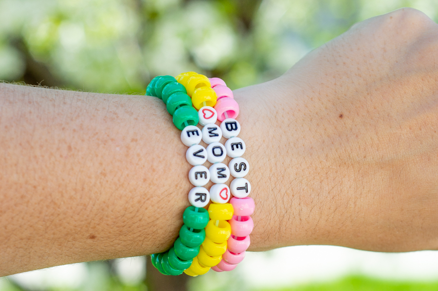 Mothers' Day Beaded Bracelets