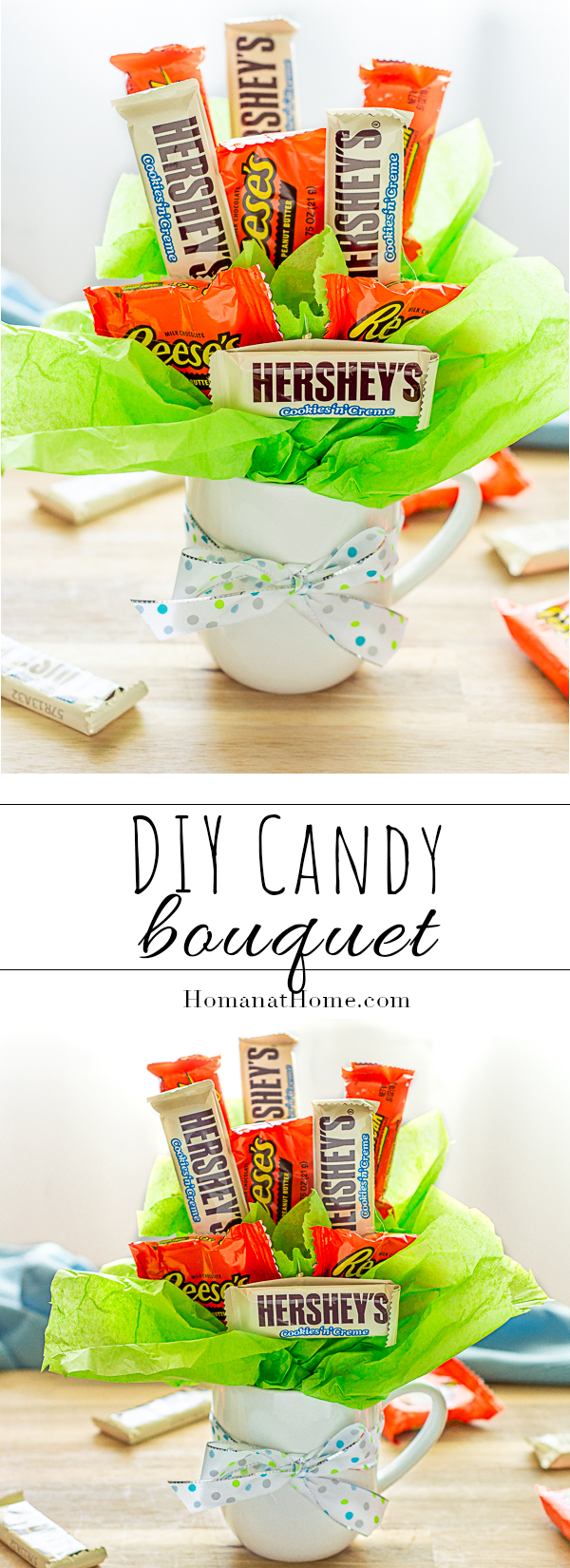 DIY Candy Bouquet | Homan at Home