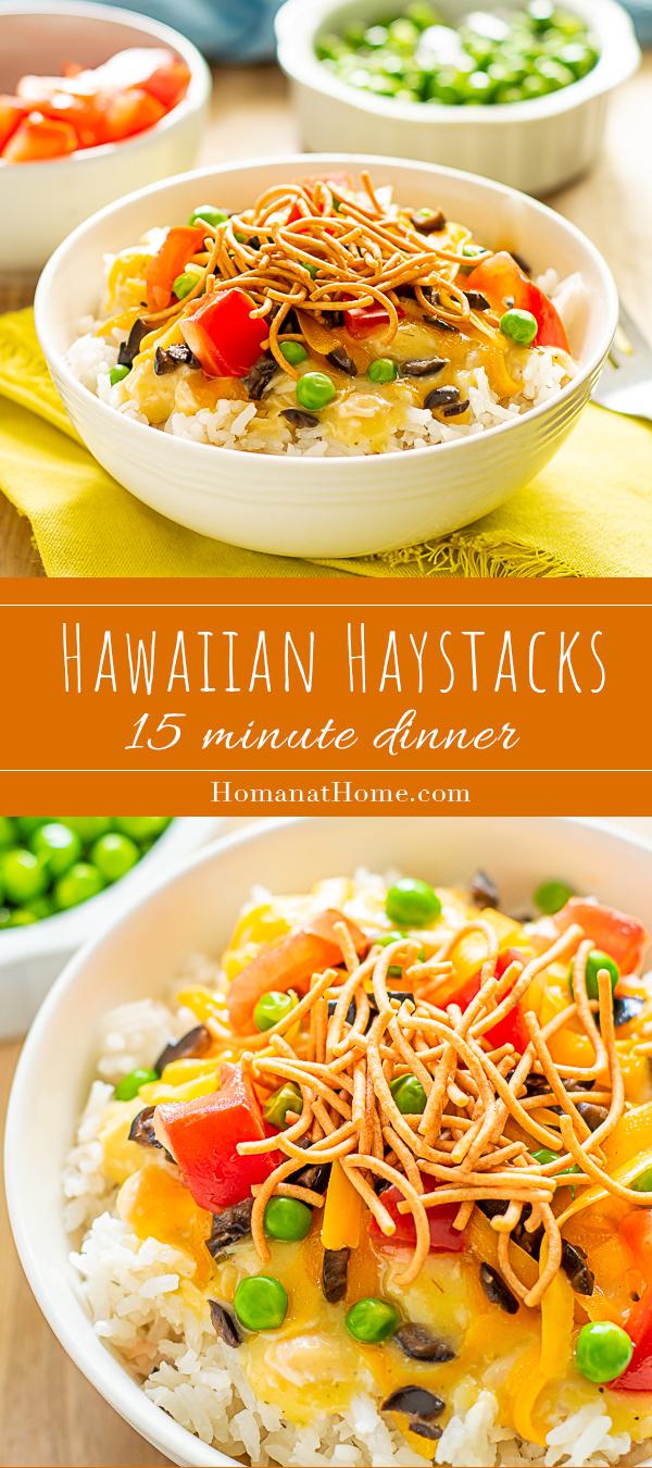 Hawaiian Haystacks   Homan at Home