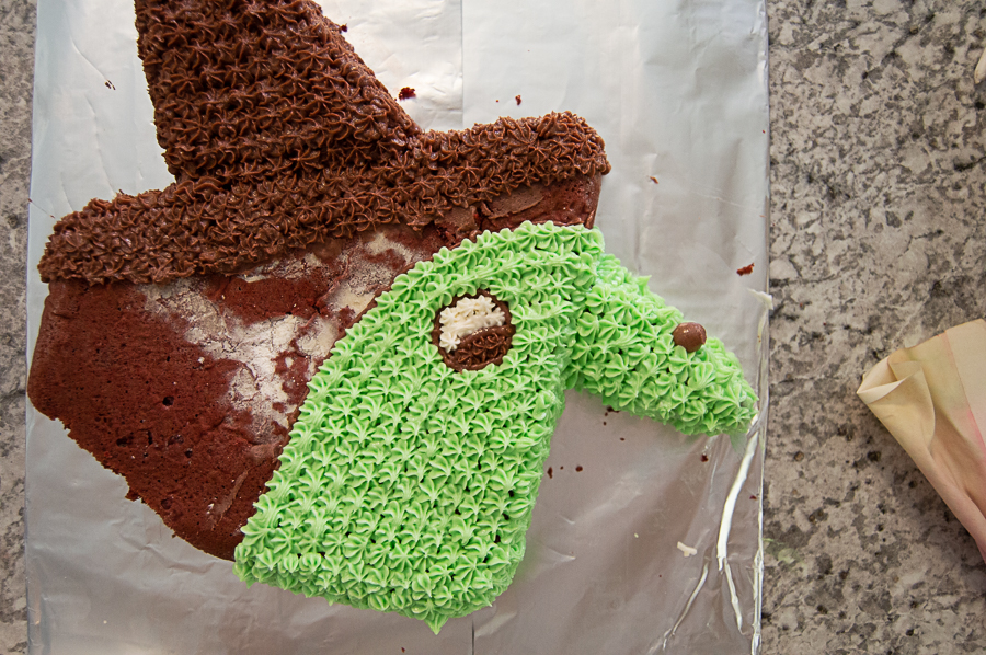 Witch Cut-Up Cake   Homan at Home
