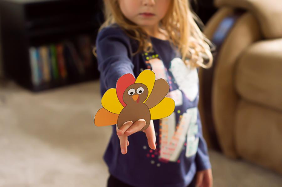 Turkey Finger Puppets | Homan at Home