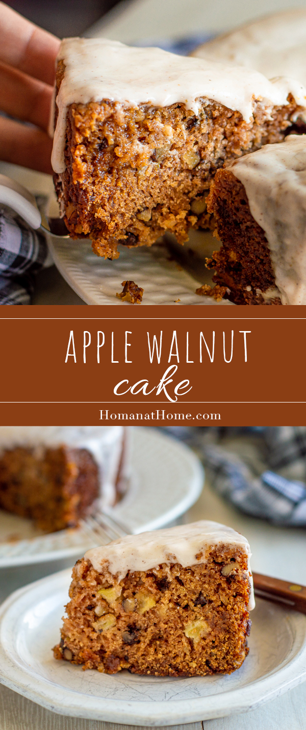 Apple Walnut Cake | Home at Home