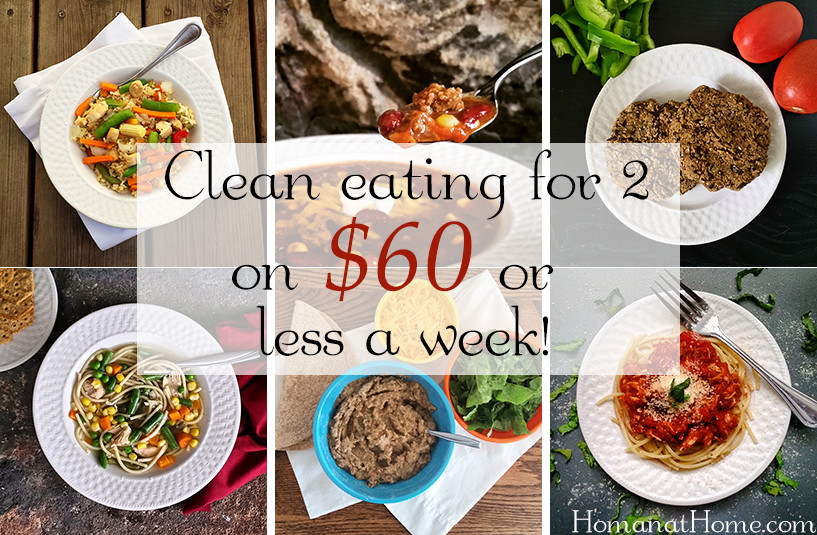 Clean Eating on a Budget | Homan at Home