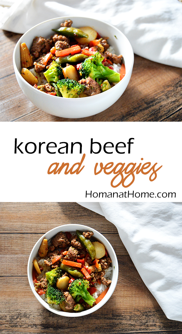 Korean Beef and Veggies | Homan at Home