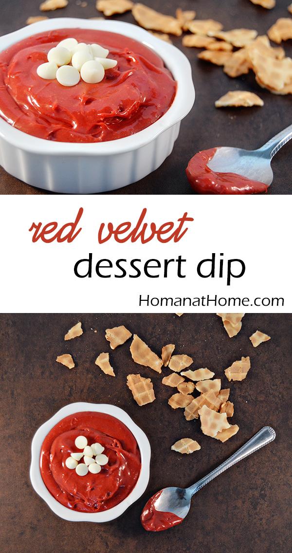 Red Velvet Dessert Dip | Homan at Home