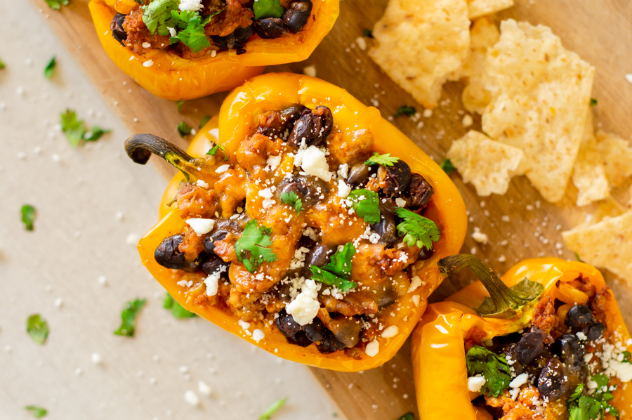 Low-Carb Stuffed Peppers