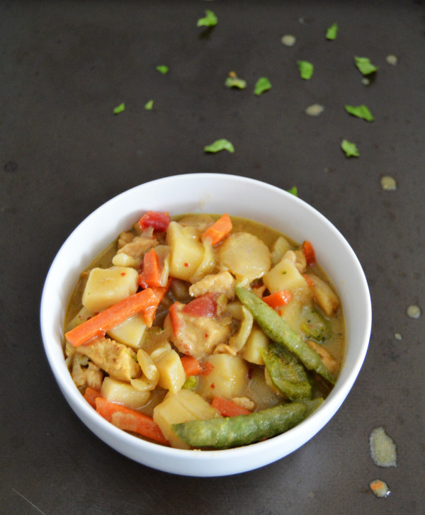Slow Cooker Thai Green Curry | Homan at Home