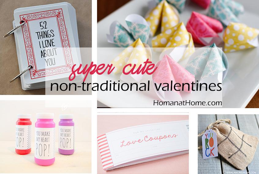 Super Cute Non-Traditional Valentines