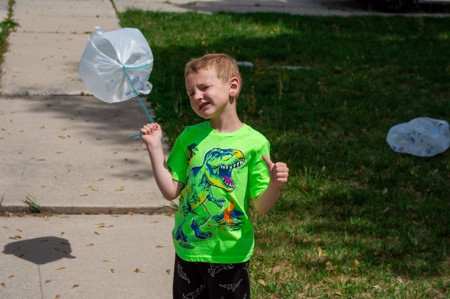 Plastic Bag Kites