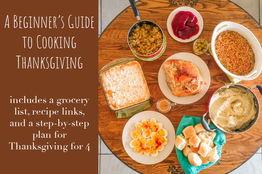 A Beginner's Guide to Cooking Thanksgiving